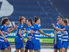 Op de valreep zet PEC Zwolle Vrouwen nog een grote overwinning op het scorebord
