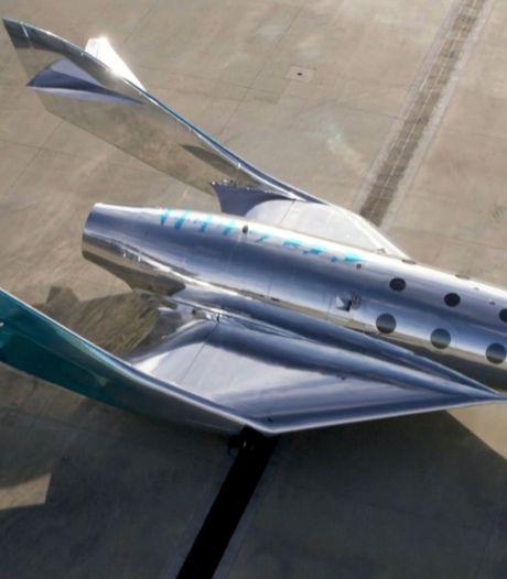 Virgin Galactic dévoile son nouvel appareil pour le tourisme spatial