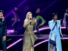 Chantal en Edsilia blikken trots terug op songfestival: 'Feest om monsterklus met elkaar te klaren'