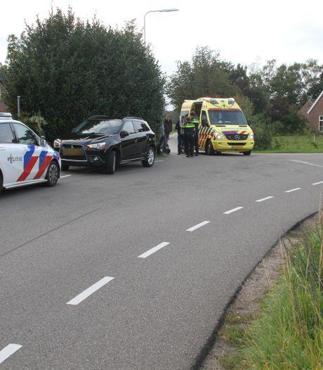 Motorrijder gaat onderuit tussen Holten en Laren en raakt gewond