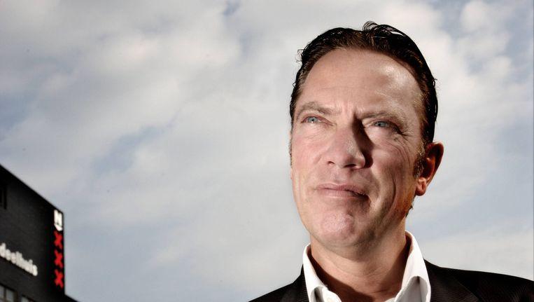 Rob Post was tot 2014 stadsdeelvoorzitter van Noord. Beeld Jan van Breda