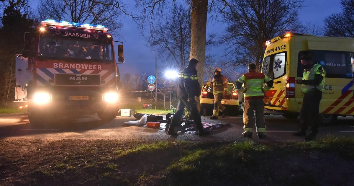 Ernstig ongeluk met twee gewonden in Vaassen.