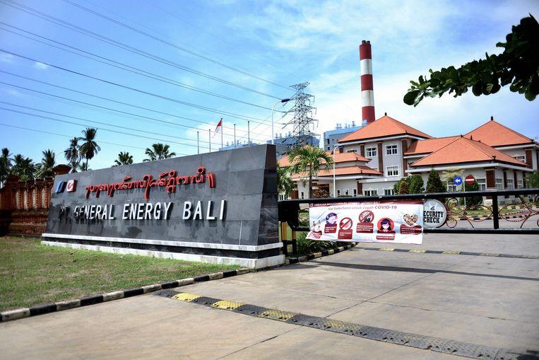 Een door China gefinancierde kolencentrale op het Indonesische eiland Bali. Beeld AFP