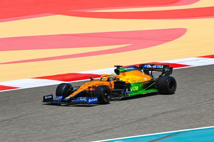 Ricciardo liet de snelste tijd optekenen tijdens de ochtendsessie.