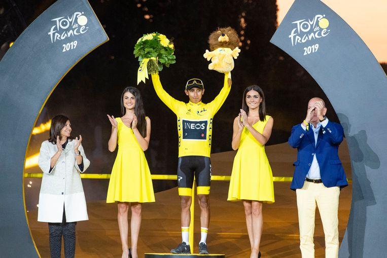 Bernal gaat in juli op zoek naar een tweede opeenvolgende Tourzege.