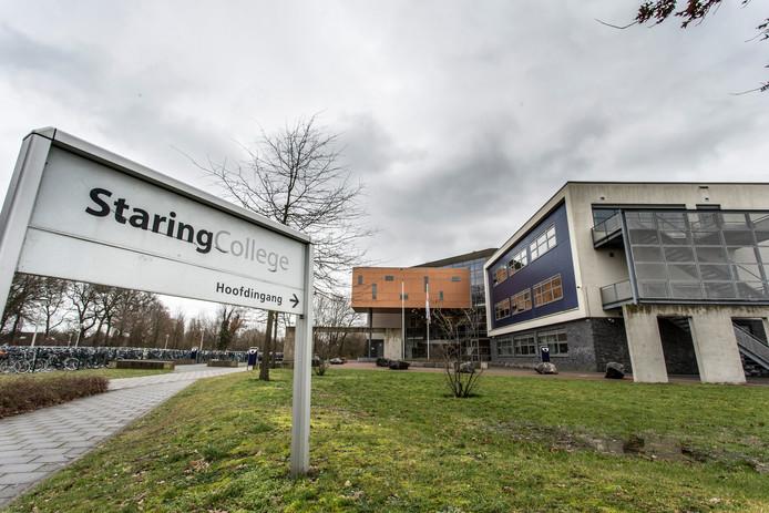 Staring College in Lochem, foto ter illustratie.
