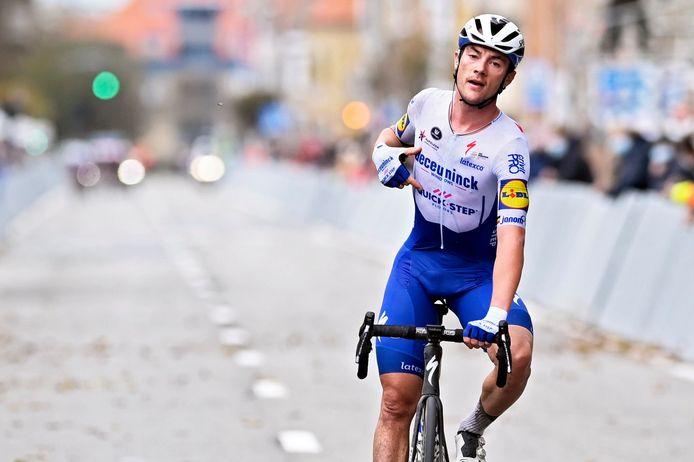 Isabelle vond voor haar baksel inspiratie bij de Ingelmunsterse renner Yves Lampaert.