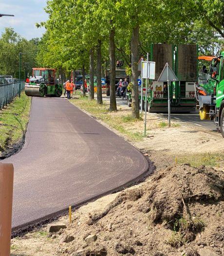 Broekdijk in Nuenen na negen maanden weer open voor autoverkeer