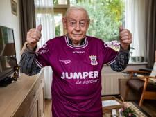 98-jarige Diepenvener na jaren weer terug bij Go Ahead: 'Het was net een kermis'