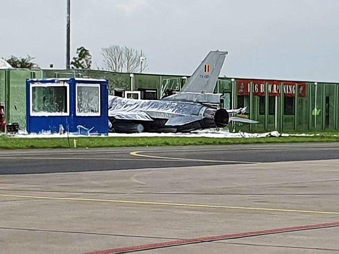Incident met Belgische F16 op Vliegbasis Leeuwarden.