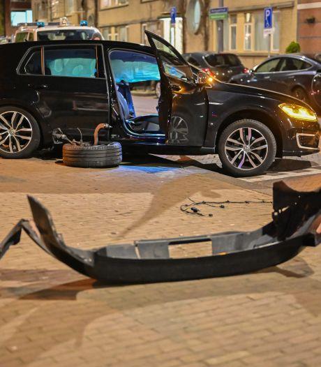 Bestuurder raakt van de weg en ramt andere auto: mogelijk lachgas in het spel