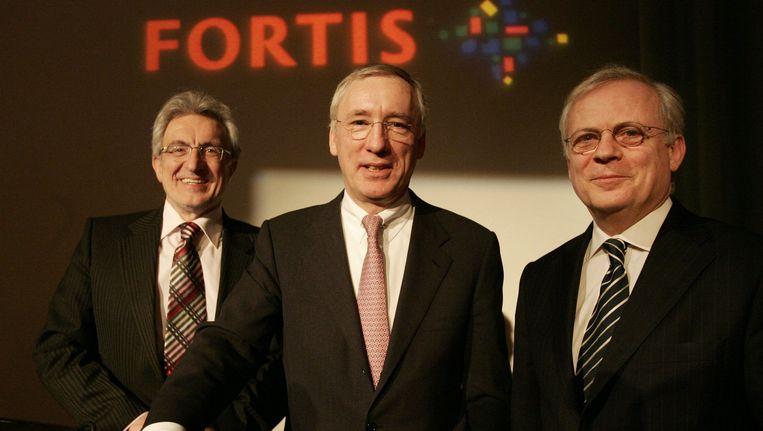 Herman Verwilst, Jean Pierre Votron en Gilbert Mittler. Beeld BELGA