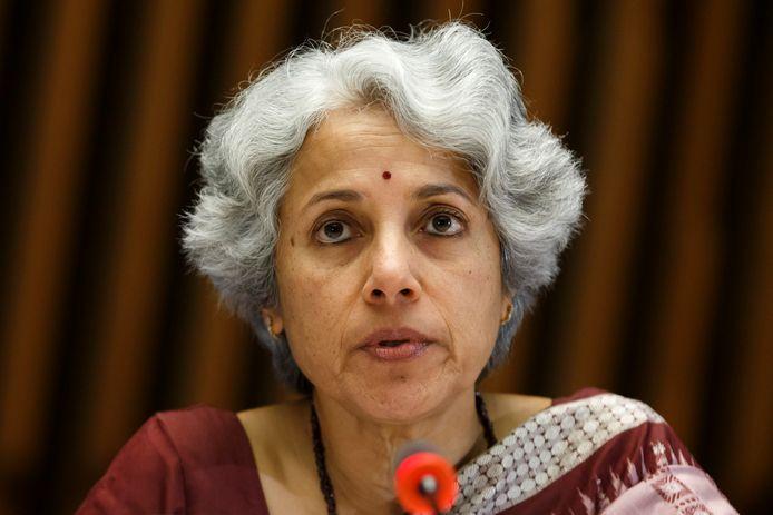 Soumya Swaminathan, hoofdwetenschapper van de WHO.