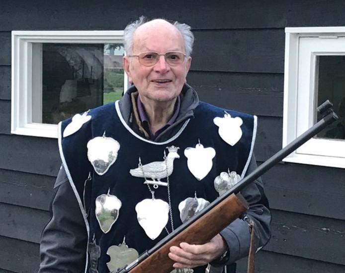 Hoofdman Hans van Ooijen is Koning geworden.