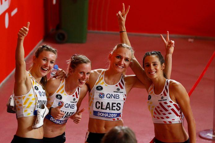 De Belgian Cheetahs met Hanne Claes.