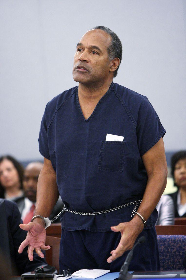 'O.J. Simpson had al een neiging naar geweld en misbruik, maar de 'vergunning' om zich er ook schuldig aan te maken, kwam met de roem.' Beeld AFP