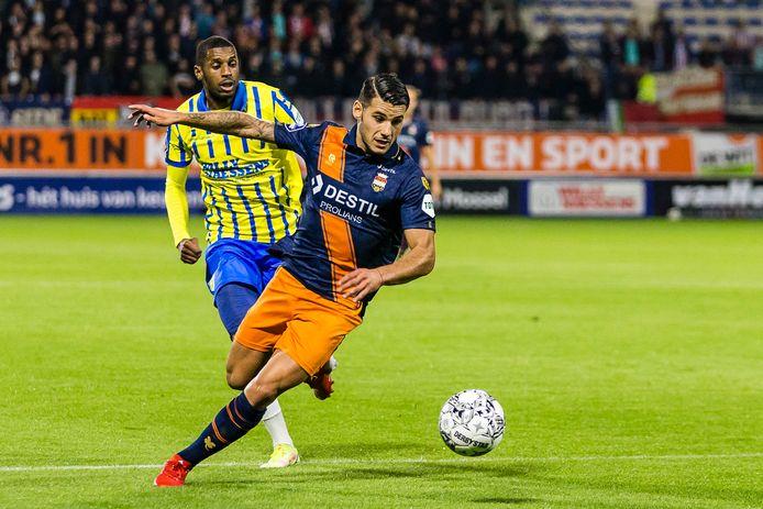 RKC en Willem II troffen elkaar ook al in de eredivisie.