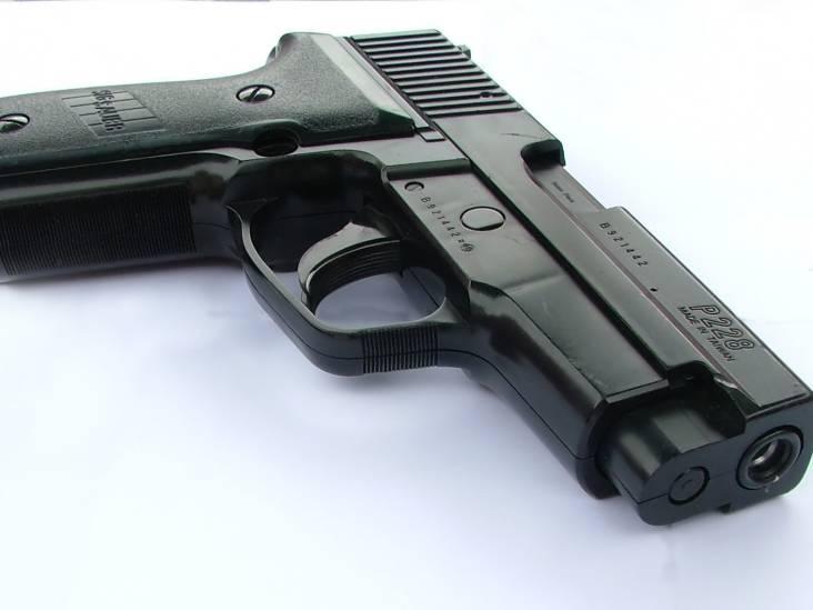 Weggegooid pistool in Breda kost halfjaar cel