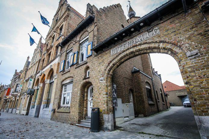 Het dossier voor een nieuwe evenementenhal op de site van de Boterhalle start volgend jaar.