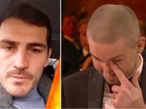 Moment d'émotion au Soulier d'Or: Van Damme en larmes après une surprise de Casillas