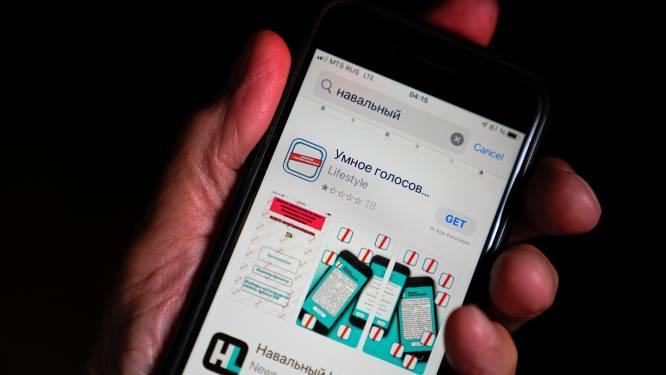 Russen trekken naar stembus voor parlementsverkiezingen: Google en Apple halen verkiezingsapp Navalny uit appstores