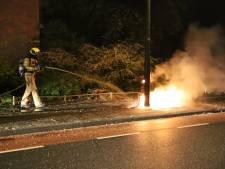 Scooter uitgebrand op Prinses Margrietsingel in Rijswijk
