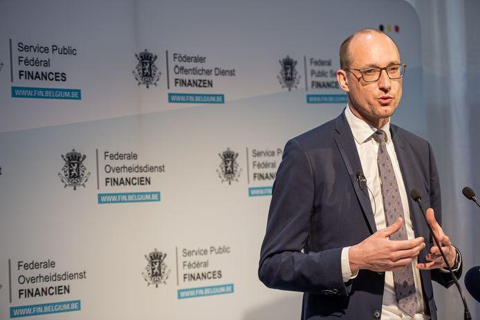 Minister van Financiën Vincent Van Peteghem (CD&V)