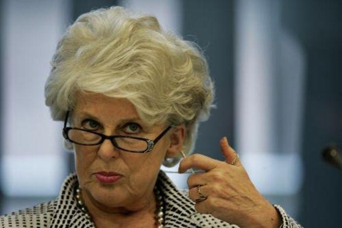 Commissaris van de koningin Karla Peijs. foto ANP