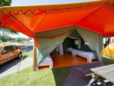 Oranjecamping in Charkov stroomt vol