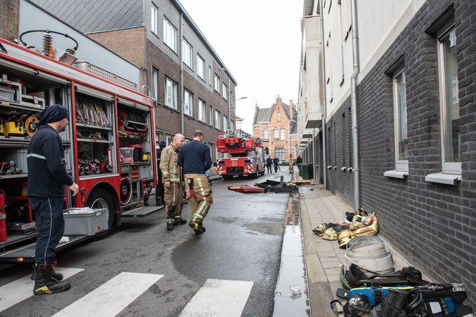 Oudenaarde brand in flat