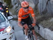 Sosa wint bergetappe in Italië, Weening vijfde