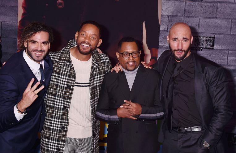 Adil El Arbi met Will Smith, Martin Lawrence en Bilall Fallah.