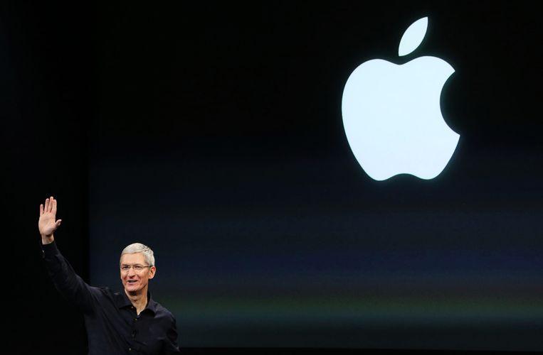 Apple is een van de grote bedrijven die dit jaar in opspraak raakte, door de belastingvoordelen die het in Ierland geniet. Beeld REUTERS