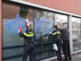 Politiebureau Heemstraat beklad: 'Rip Mitch'