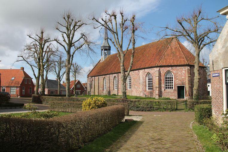 Het eeuwenoude dorp Niehove. Beeld Flip van Doorn