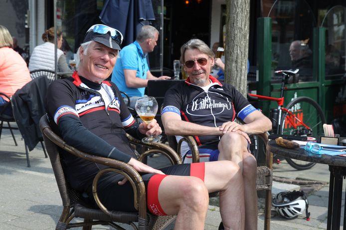 Op het terras van café Wilhelmina in Eindhoven.