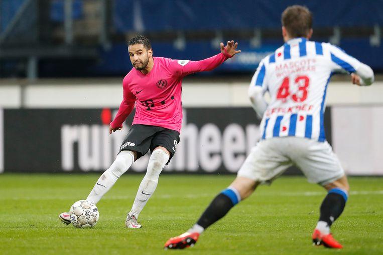 Bij Utrecht is Maher weer een van de beste passers in de eredivisie. Beeld Pro Shots / Niels Boersema