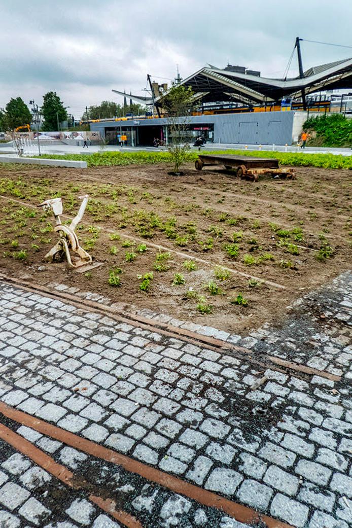 Stekelenburgplein wordt groen.