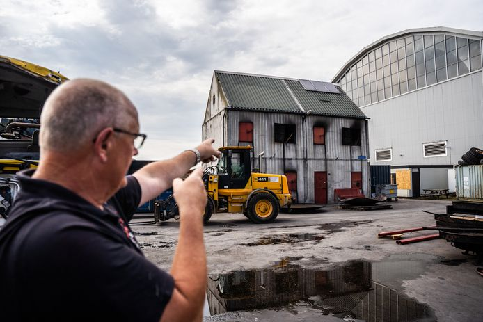Gert de Weerd van het Brandweer Trainingscentrum Kleefse Waard in Arnhem.