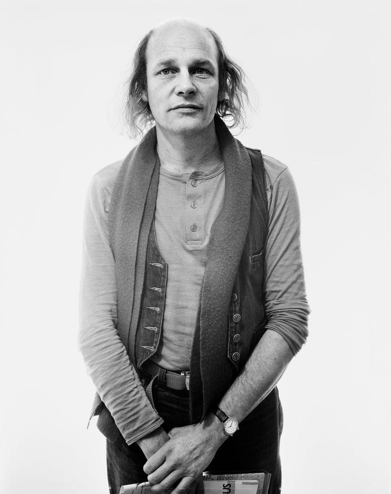 Robby Müller, Rotterdam, 1983, gefotografeerd door Pieter Vandermeer Beeld Hollandse Hoogte / Nederlands Fotomuseum