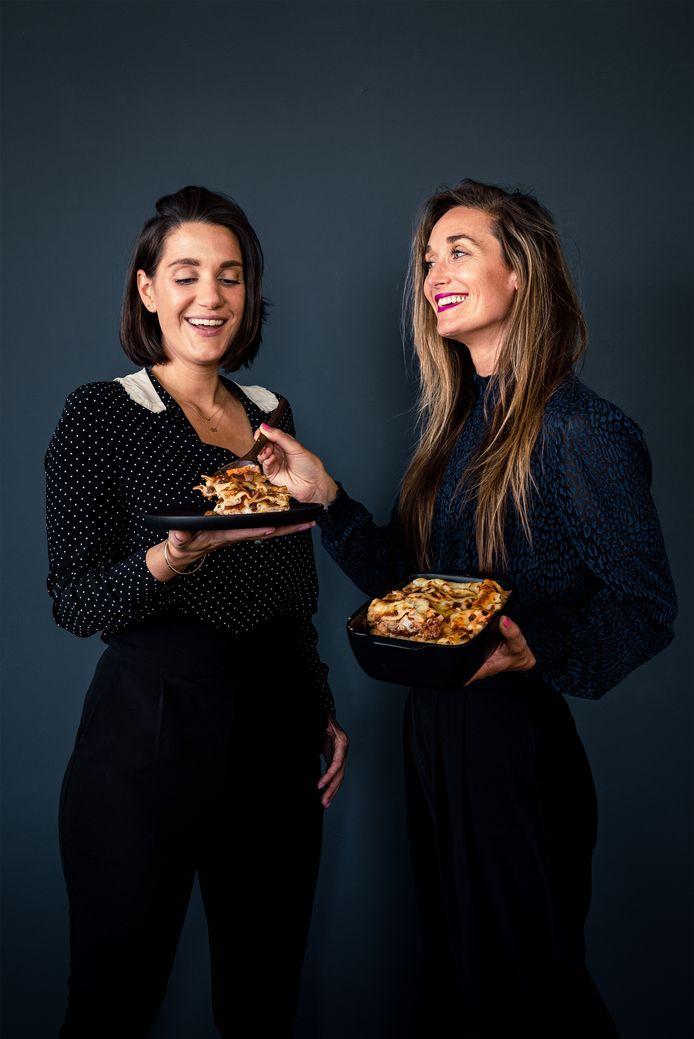 Chickslovefood:  Nina de Bruijn en Elise Gruppen.