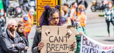 Vele honderden mensen demonstreren tegen racisme in Tilburg: 'Blij met deze opkomst, trots op onze stad'