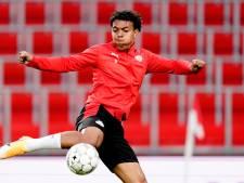 Blijdschap bij Donyell Malen over terugkeer: 'Ik ben blij dat PSV me alle tijd geeft'