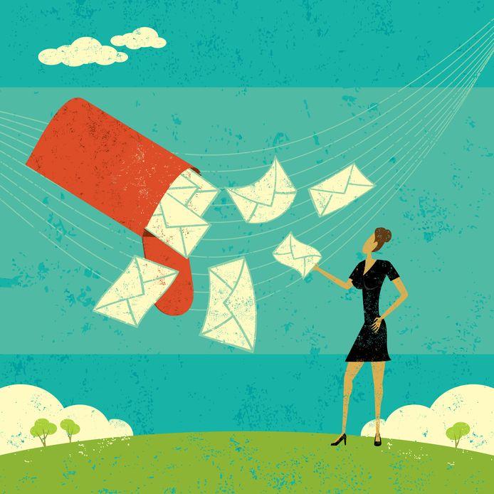 Afbeelding ter illustratie. Voorkom dat je in professionele mails te gemakzuchtig wordt, waarschuwen de experts.
