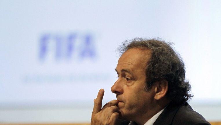 UEFA-baas Michel Platini. Beeld afp