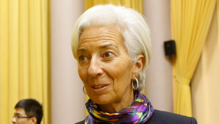 Directeur van het IMF Christine Lagarde. Beeld REUTERS