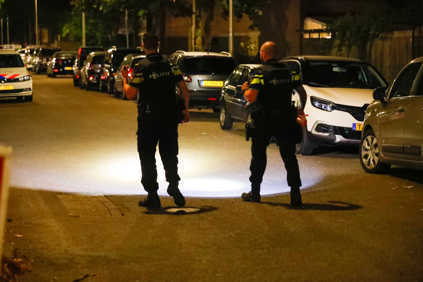 Onderzoek politie na melding schietpartij Venuslaan Eindhoven.