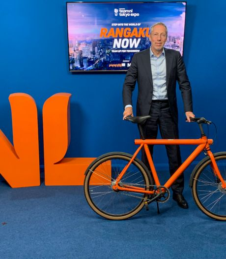 Nederlandse ambassadeur heeft één droom rond de Spelen: 'Mijn idool Mathieu van der Poel aanmoedigen'