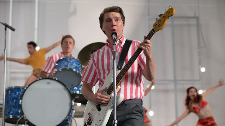 Paul Dano als Brian Wilson in 'Love & Mercy'. Beeld
