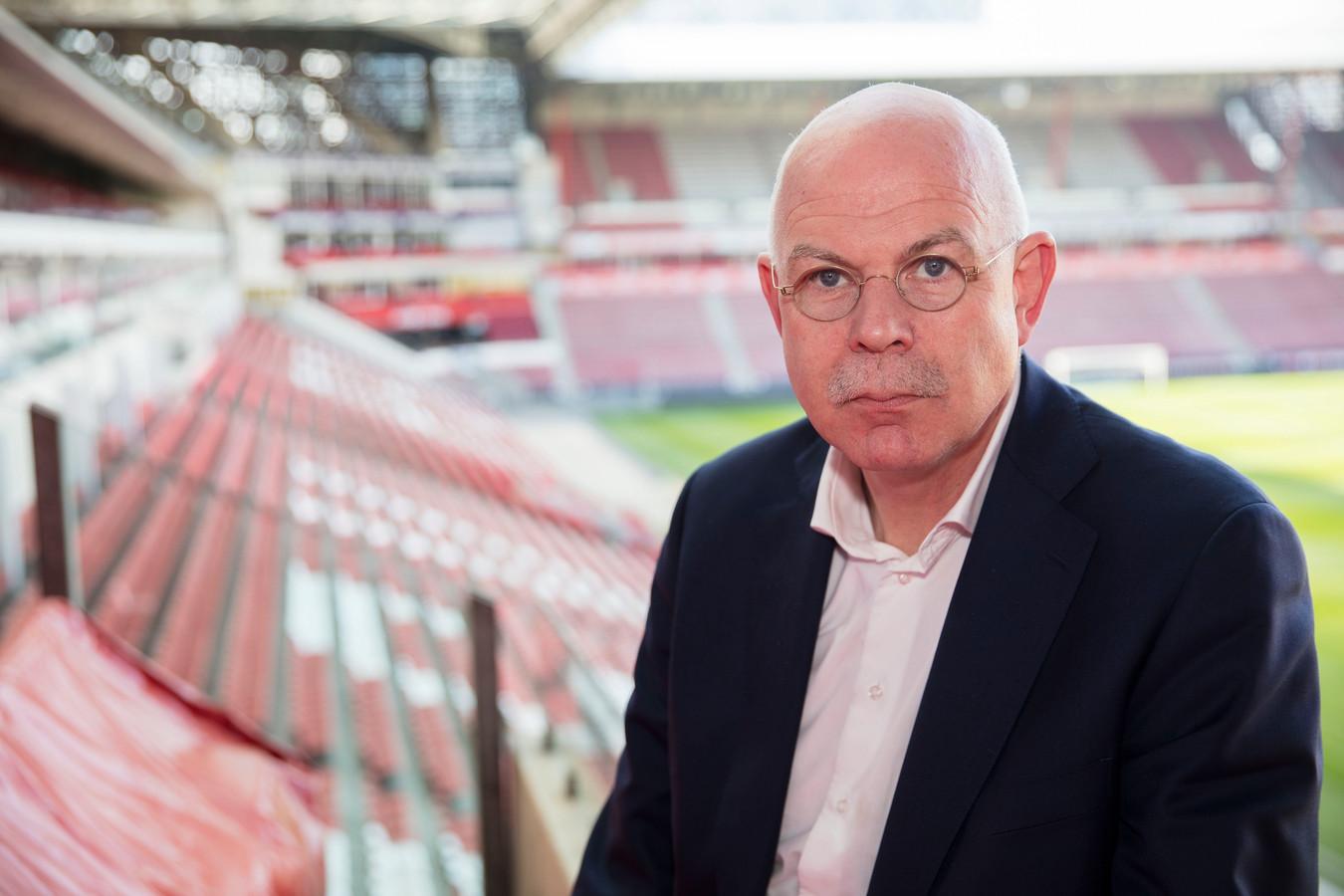 PSV directeur Toon Gerbrands in Stadion Eindhoven